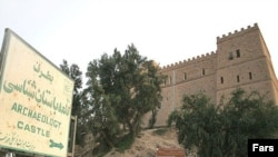 Iran -- Ancient Apadana Palace in Susa in Khuzestan Province, Susa, 10Apr2009