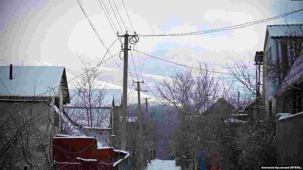 Долгоруковская яйла в снегу