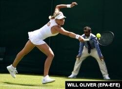 Українська тенісистка Даяна Ястремська. Лондон, 1 липня 2019 року