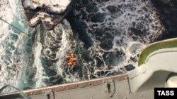 Спасательная операция в Охотском море, 20 декабря 2011