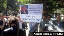 Акция активистов молодежного движения NİDA (архивное фото)