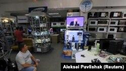 Ukraynada da Putinin çıxışına qulaq asırlar