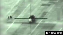 В одному з рідкісних випадків визнання ракетного удару в Сирії Ізраїль показав, як знищив сирійську ракетну установку 10 травня 2018 року