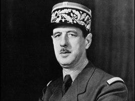 Fransanın prezidenti olmuş Şarl De Qol