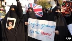 Антибританские протесты в Тегеране продолжаются.