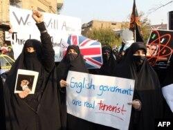 حملهکنندگان به سفارت بریتانیا در تهران.