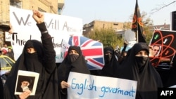 Iranian hard-line supporters stormed the British Embassy in Tehran on November 29.