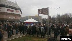 Protesti vojnih veterana i demobilisanih boraca u Banjaluci