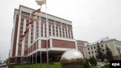 Мінськ, «Президент-отель», де засідає Тристороння контактна група