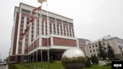 «Президент-готель» у Мінську, звичне місце зустрічей Тристоронньої контактної групи