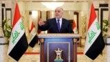 العبادي يدلي بتصريحاته الصحفية الأولى - بغداد 25 آب 2014