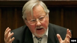 "If he had to do it all over again, Vytautas Landsbergis says he ""would be more careful about sophisticated forms of political corruption."""