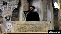 Лидерот на Исламската држава Абу Бакр ал-Багдади.