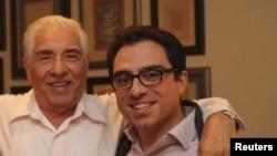 Siamak Namazi (sağda) və Baquer Namazi