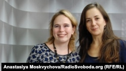 Леоніда Пономарьова та Аліна Марненко