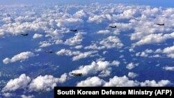 Exerciții militare aviatice sud-coreene