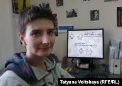 "Гуля Султанова, организатор фестиваля ""Бок о бок"""