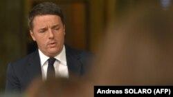 Italiýanyň premýer-ministri Matteo Renzi.