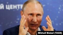Predsjednik Rusije Vladimir Putin
