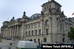 Clădirea Reichstag-ului la Berlin