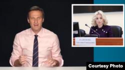 Навальныйдын видео иликтөөлөрүнөн алынган сүрөт.