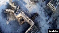 Руины аэропорта Донецка