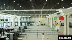 Тошкент халқаро аэропортидаги терминал.