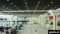 Новый терминал аэропорта Ташкент.