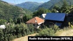 Село во Гора Река, општина Маврово - Ростуше