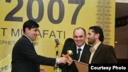 «NETTY» milli internet mükafatının 2007-ci il qalibləri sırasında AZƏRFOTO-nun da adı çəkildi Foto: AzərFoto