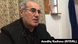 Rüfət Səfərovun atası Eldar Sabiroğlu.