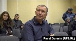 Николай Денин в зале суда