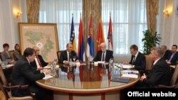 Sastanak zvaničnika iz regiona u Banja Luci, 24. februar 2012.