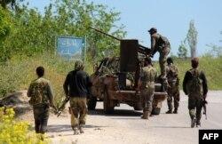 """Боевики """"Фронта ан-Нусра"""" на юге Сирии. Март 2015 года"""