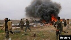 Тикрит шаарын ээлеген шиит аскерлери. 12-март, Ирак.