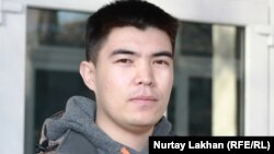 Студент КазНУ Балкаш Бекулы, приехавший из Китая. Алматы, 29 ноября 2013 года.