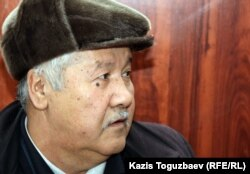 Мурат Игиликов, отец осужденного Алмаза Игиликова. Алматы, 18 января 2012 года.