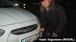 66-летний алматинец Илимжан Колбеков, автолюбитель. 16 января 2014 года.
