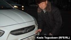 Алматы тұрғыны Ілімжан Көлбеков. 16 қаңтар 2014 жыл.