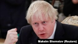 British Foreign Secretary Boris Johnson (file photo)