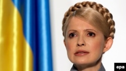 Jailed former Ukrainian Prime Minister Yulia Tymoshenko