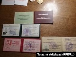 Документы Николая Ивановича Кузнецова