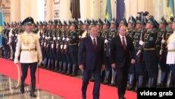 Путин һәм Казакъстан президенты Нурсолтан Назарбаев Астанада БДБ саммитында