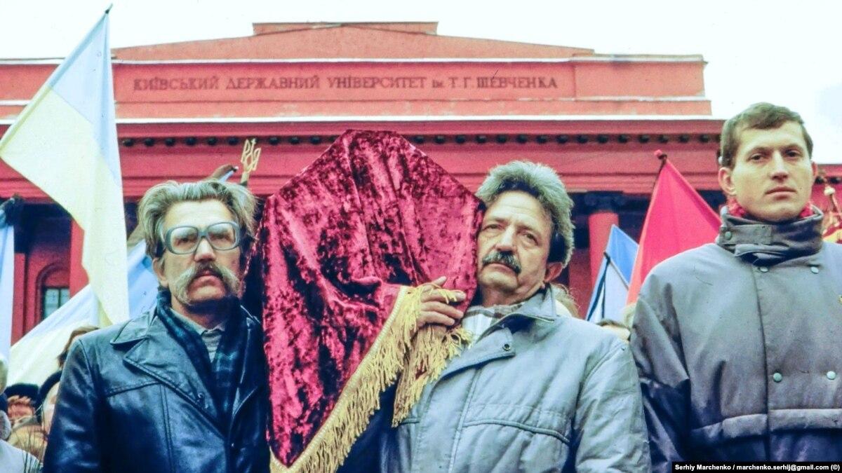 30 лет назад. Уникальные фото перезахоронение Стуса, Литвина и Тихого
