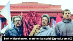 30 років тому. Унікальні фото перепоховання Стуса, Литвина і Тихого