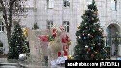 Aşgabat Täze ýyla taýýarlanýar