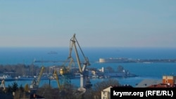 Порт в Севастополе, архивное фото