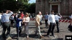 Итали -- Модена-гIалахь килсана хьалха гулбелла мохк бегоро синтем байина нах, 29Стиг2012