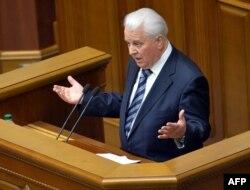 Леонид Кравчук выступает в Верховной Раде Украины - январь 2014 года