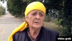 Эльза Рерих, жительница села Калачи. Акмолинская область, 7 сентября 2014 года.